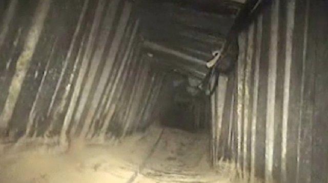 Túnel de Hamás en Kerem Shalom