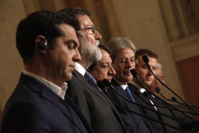 Rajoy a la Cimera dels Països del Sud d'Europa