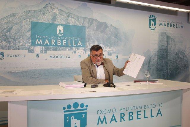 Concejal de marbella, BAldomero León