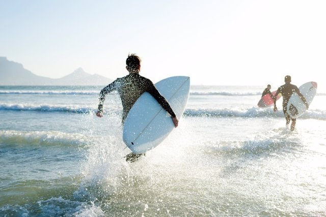 Surfero, surf, mar