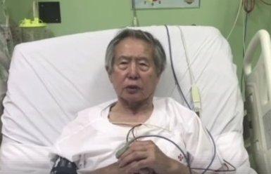 Alberto Fujimori ingressa en una clínica per fer-se proves mèdiques (FACEBOOK ALBERTO FUJIMORI)
