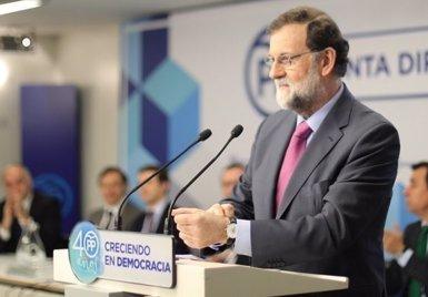 Rajoy avisa que Puigdemont no pot ser president des de Brussel·les i que el 155 seguirà en aquest cas en vigor (TWITTER DEL PP)