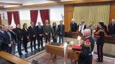 Foto: El Ayuntamiento de Córdoba despide al poeta Pablo García Baena en una jornada de luto oficial