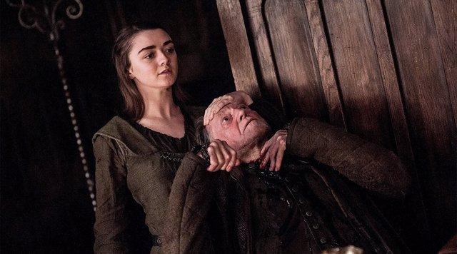 Maisie Williams en 'Juego de Tronos'