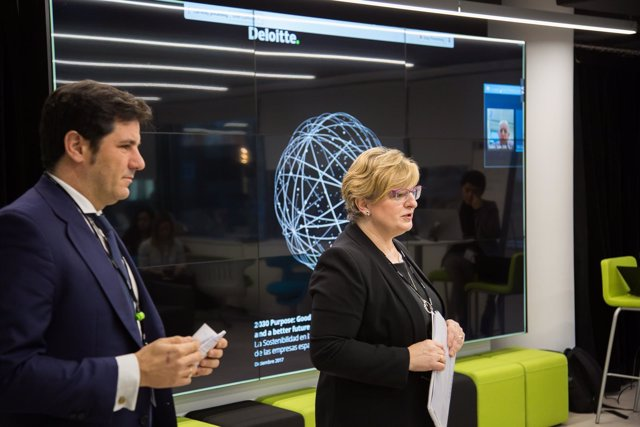 Presentación '2030 Purpose: good business and better future', de Deloitte