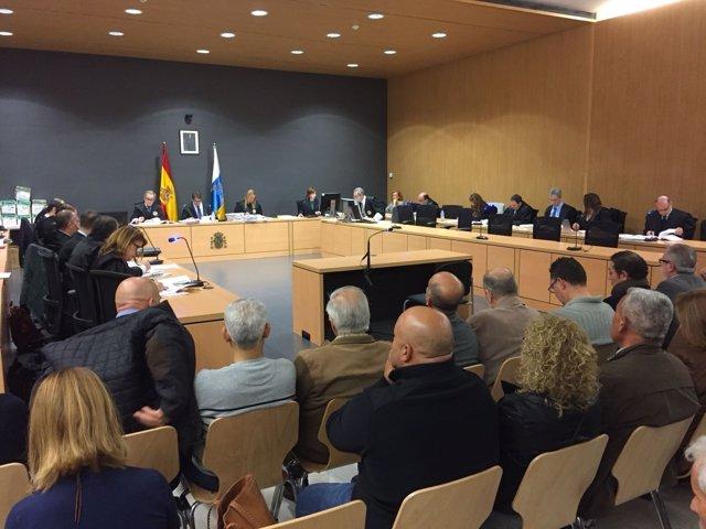 Veinte de los procesados admiten su participación en trama corrupta de Telde