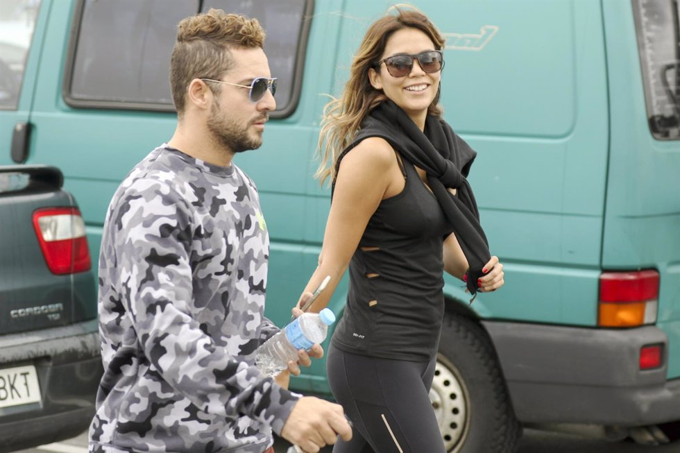 David Bisbal y Rosanna Zanetti/ Europa Press