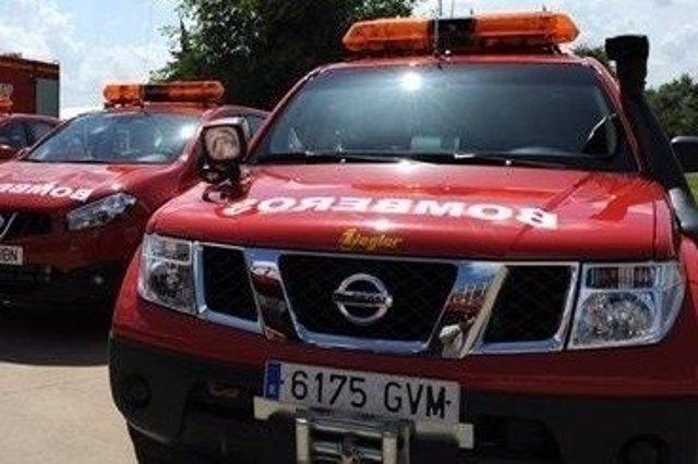 Bomberos de la Diputación de Sevilla