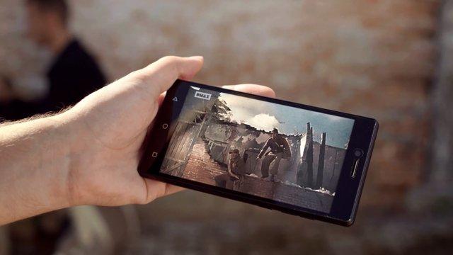 Móvil, dispositivo, tele, streaming, on demand, TV
