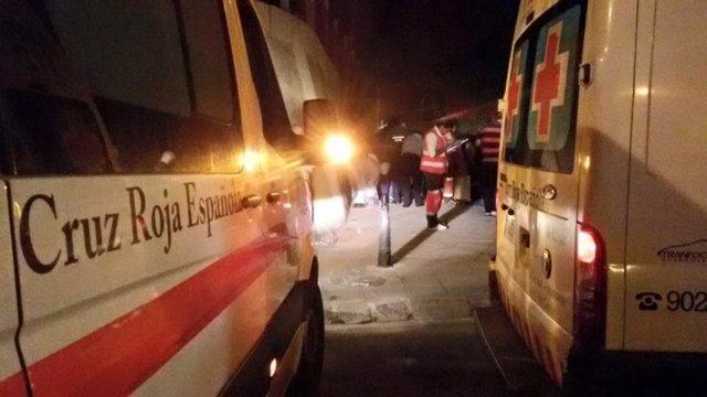 Cruz Roja inmigrantes en Ceuta