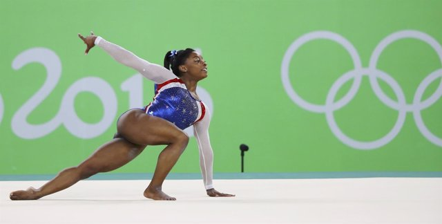 Simone Biles en Río 2016