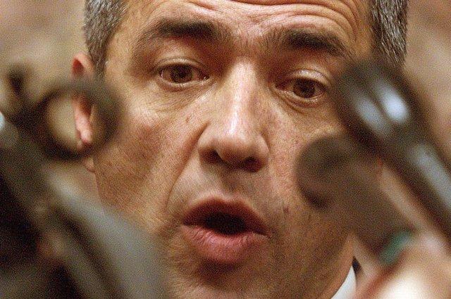 Oliver Ivanovic, en una imagen de archivo en el Parlamento kosovar