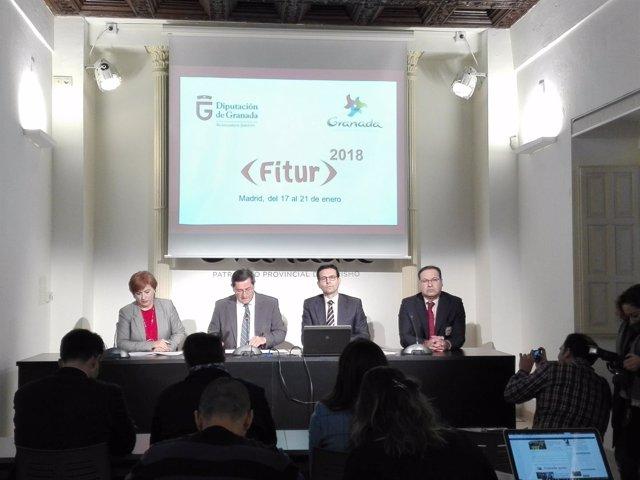 Presentación de la presencia de Granada en Fitur
