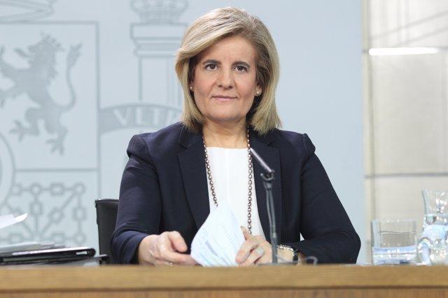 Roda de premsa de Fátima Báñez després del Consell de Ministres