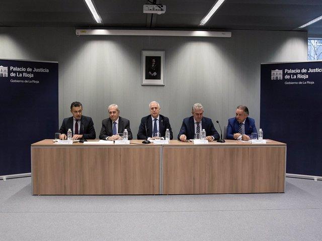Jornada Administración de Justicia en Logroño