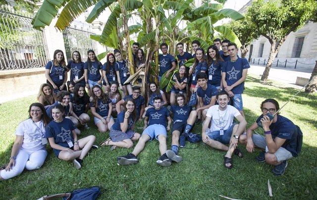 Participantes de la US en los Campus Científicos de Verano