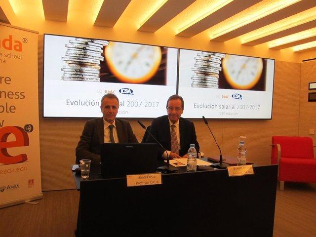 Jordi Costa y Ernesto Poveda