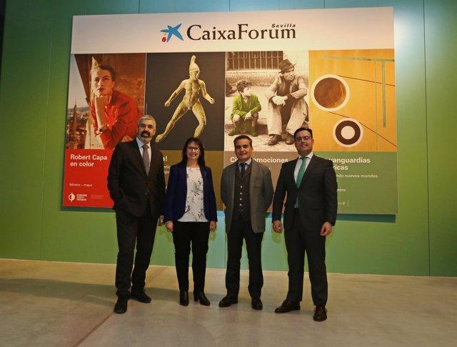 Presentación de la temporada cultural del CaixaForum de Sevilla