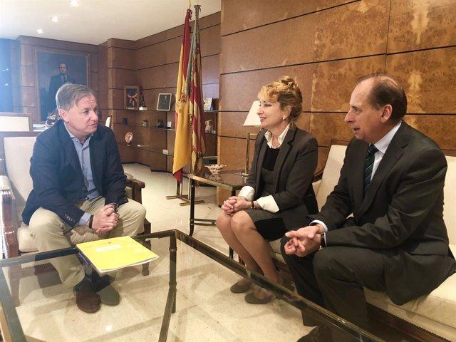 Reunión de Moragues con el COMV