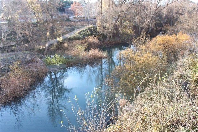 Sequía, río, agua