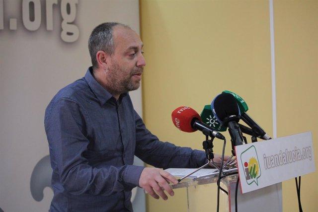 El líder del PCA y coordinador de la Comisión Colegiada de IULV-CA, Ernesto Alba