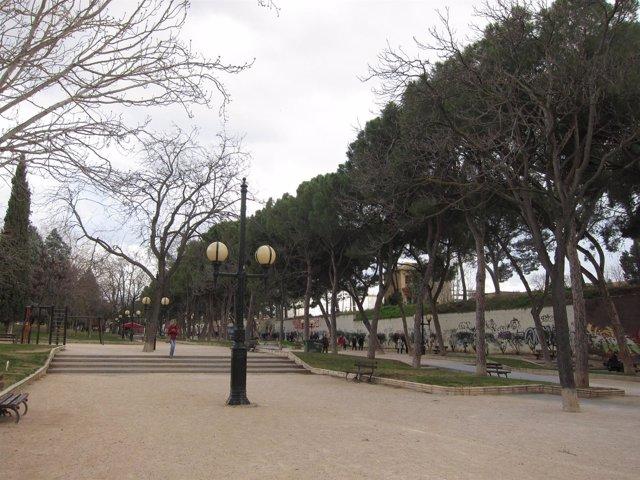 Parque Pignatelli de Zaragoza