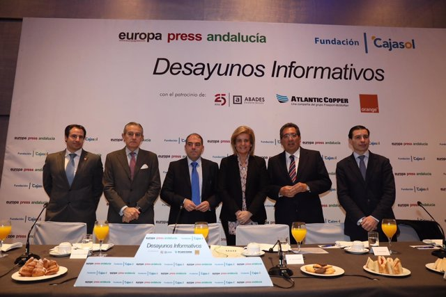 Lorenzo Amor ATA desayuno informativo Europa Press Andalucía autónomos
