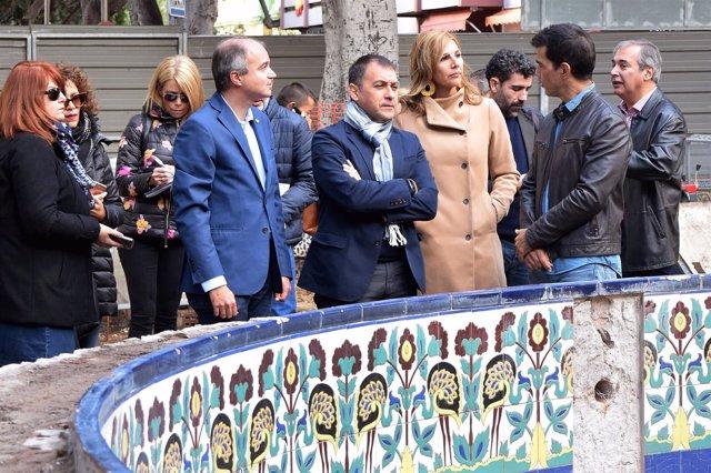 Visita a la plaza de Los Patos