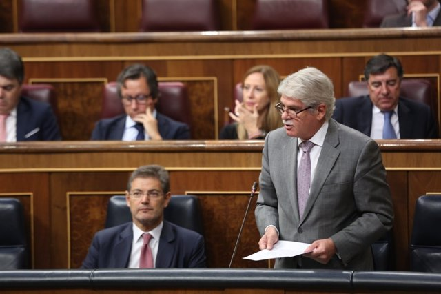 Alfonso Dastis en el Congreso