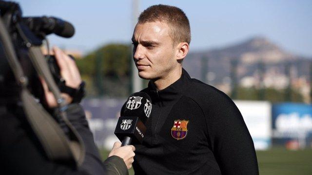 El portero del FC Barcelona Jasper Cillessen