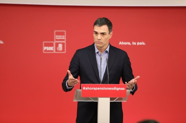 Rueda de prensa de Pedro Sánchez tras la reunión de la Ejecutiva Federal