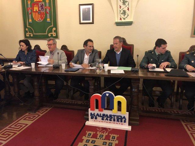 Junta de Seguridad de Malpartida de Cáceres