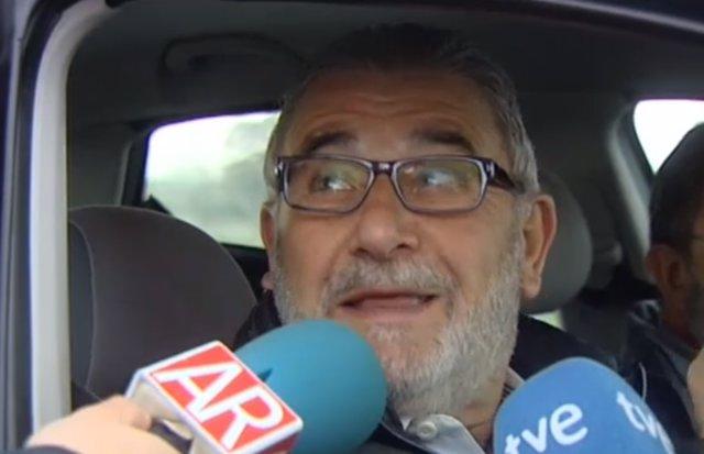 Laureano Oubiña sae de prisón