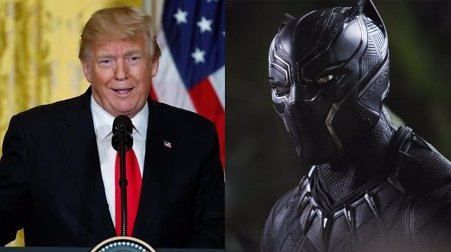 Trump y Wakanda