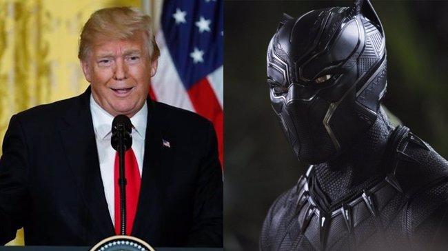 Ofrecen 300 dólares al periodista que pregunte a Trump sobre Wakanda y su relación con EE.UU. (MARVEL/REUTERS)