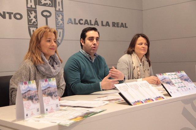 Presentación de los datos de visitantes a Alcalá la Real en 2017.
