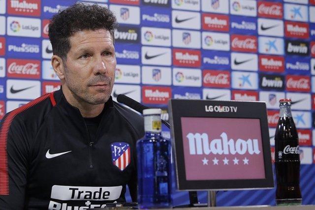 Cholo Simeone Atlético