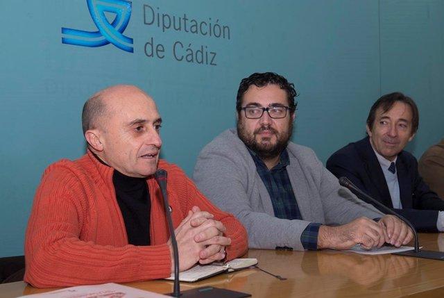 Pepe Viyuela en la Diputación de Cádiz