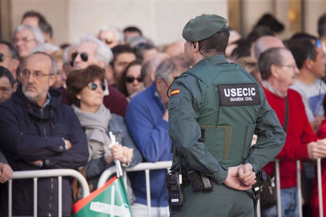 Guardia Civil recursos vigilancia, desfiles