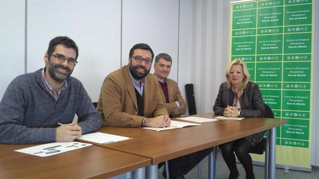 [L Comunicacion.Almeria.Dgob] Nota. El Consorcio De Transporte De Almería Adjudi