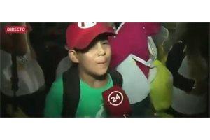 La sincera y fatalista opinión de un niño chileno sobre el futuro del papa Francisco causa furor en las redes