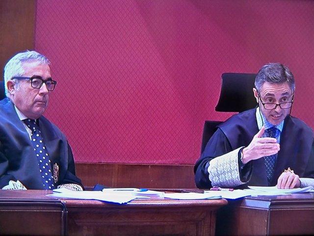 Francisco Bañeres, Emilio Sánchez Ulled, fiscales