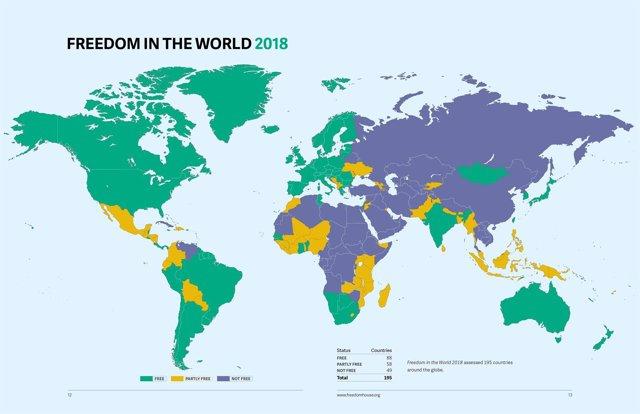 Libertad en el mundo 2018