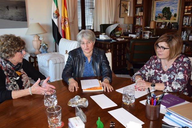 Reunión Presidenta Fundadora Ipiranga Tony López
