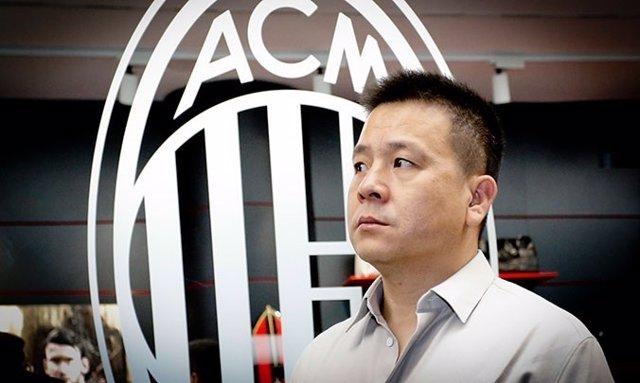 El Presidente Del AC Milan, El Chino Li Yonghong