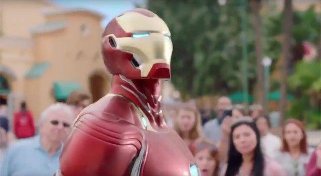 Nueva armadura de Iron Man