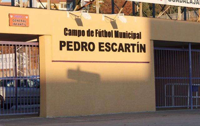 CAMPO DE FUTBOL M UNICIPAL PEDRO ESCARTIN , GUADALAJARA