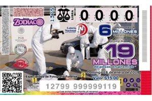 ¿Por qué en el billete de la Lotería Nacional de México está representada la escena de un crimen?