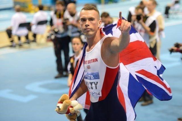 El atleta británico Richard Kilty