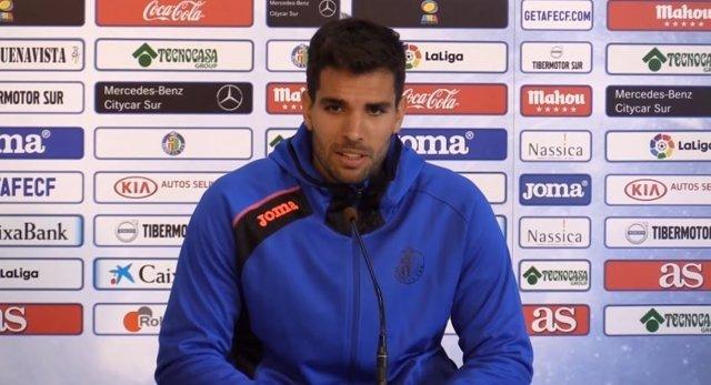 El futbolista uruguayo Leandro Cabrera